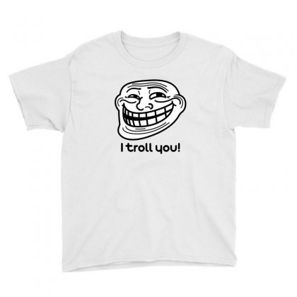 I Troll You Youth Tee Designed By Lotus Fashion Realm