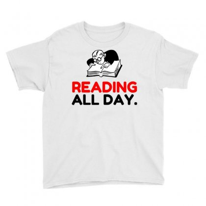 Reading All Day Youth Tee Designed By Perfect Designers