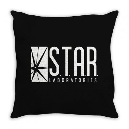 Star Labs Throw Pillow Designed By Fejena