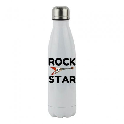 Rock Star Stainless Steel Water Bottle Designed By Perfect Designers
