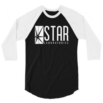 Star Labs 3/4 Sleeve Shirt Designed By Fejena
