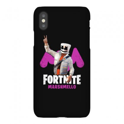 Funny Peace Fortnite Marshmello Iphonex Case Designed By Balqis Tees