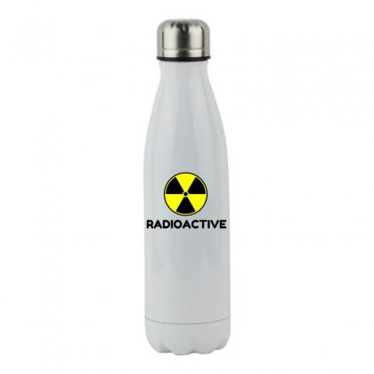 Radioactive Stainless Steel Water Bottle Designed By Perfect Designers