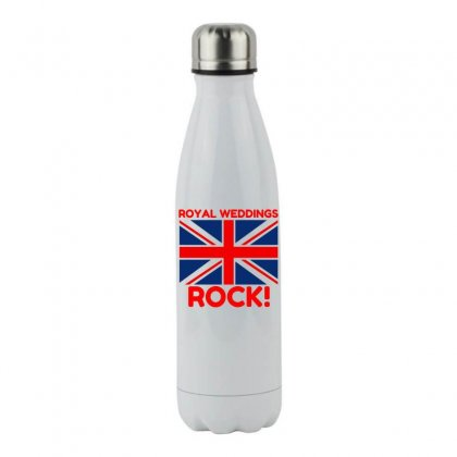 Royal Weddings Rock! Stainless Steel Water Bottle Designed By Perfect Designers