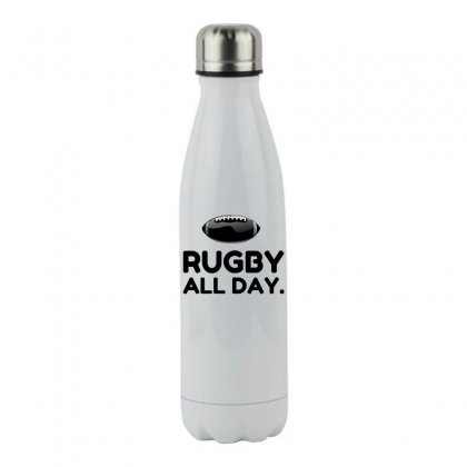 Rugby All Day Stainless Steel Water Bottle Designed By Perfect Designers