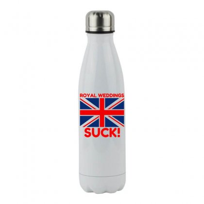 Royal Weddings Suck! Stainless Steel Water Bottle Designed By Perfect Designers