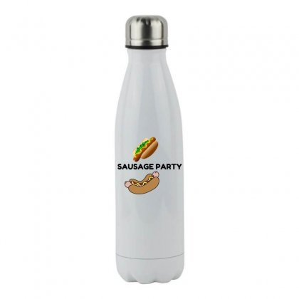 Sausage Party! Stainless Steel Water Bottle Designed By Perfect Designers