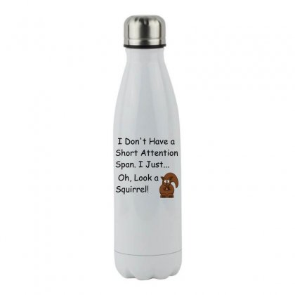 Short Attention Stainless Steel Water Bottle Designed By Perfect Designers
