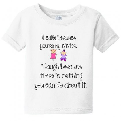 Sister Smile Baby Tee Designed By Perfect Designers
