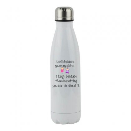 Sister Smile Stainless Steel Water Bottle Designed By Perfect Designers