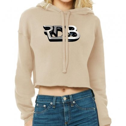 Rdbla License Plate Cropped Hoodie Designed By Tiococacola