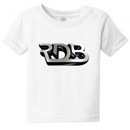 Rdbla License Plate Baby Tee Designed By Tiococacola