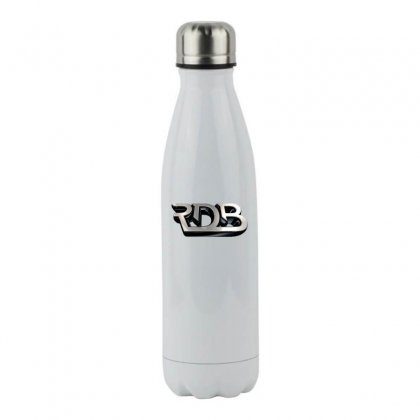 Rdbla License Plate Stainless Steel Water Bottle Designed By Tiococacola