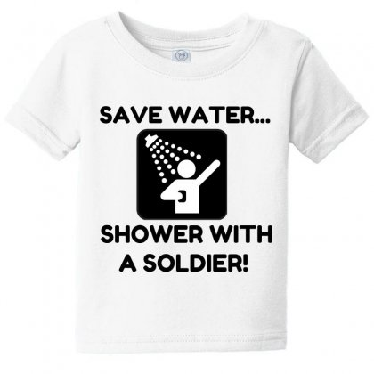 Soldier Water Baby Tee Designed By Perfect Designers