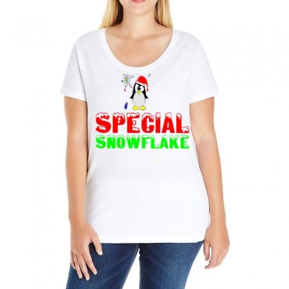 Special Snowflake Funny Ladies Curvy T-shirt Designed By Perfect Designers