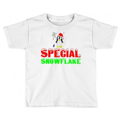 Special Snowflake Funny Toddler T-shirt Designed By Perfect Designers