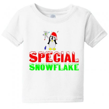 Special Snowflake Funny Baby Tee Designed By Perfect Designers