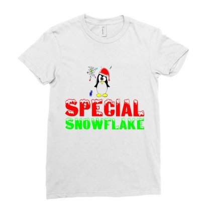 Special Snowflake Funny Ladies Fitted T-shirt Designed By Perfect Designers
