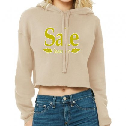 Sale Hunter Cropped Hoodie Designed By Lotus Fashion Realm