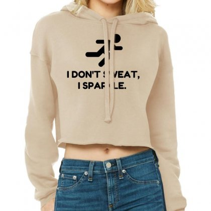 Sweat Sparkle Cropped Hoodie Designed By Perfect Designers