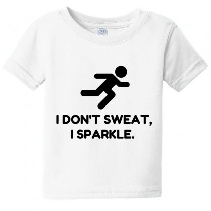 Sweat Sparkle Baby Tee Designed By Perfect Designers
