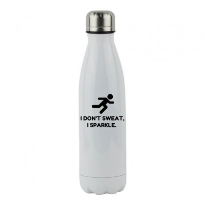 Sweat Sparkle Stainless Steel Water Bottle Designed By Perfect Designers