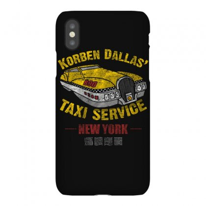 Korben Dallas' Taxi Service Iphonex Case Designed By Mdk Art