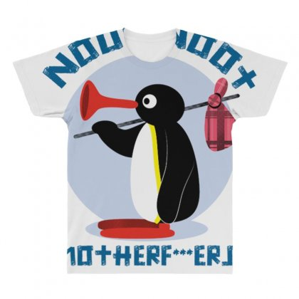 Noot Noot Mother All Over Men's T-shirt Designed By Anrora