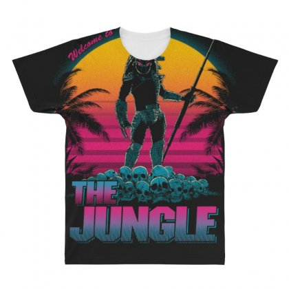 Welcome To The Jungle All Over Men's T-shirt Designed By Anrora