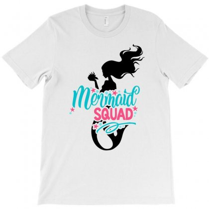 Mermaid Squad For Light T-shirt Designed By Sengul