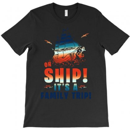 Oh Ship It's A Family Trip Marine T-shirt Designed By Sengul