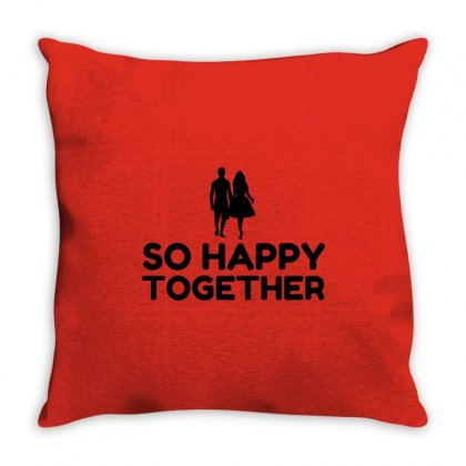 So Happy Together Throw Pillow Designed By Perfect Designers