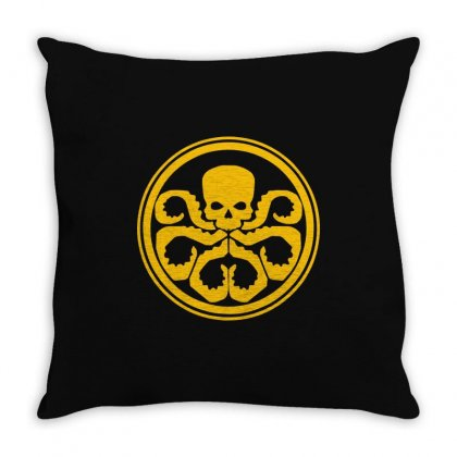 Hydra Marvel Dc Comics1 Throw Pillow Designed By Enjang