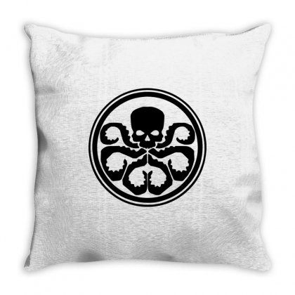 Hydra Marvel Dc Comics3 Throw Pillow Designed By Enjang