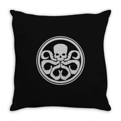 Hydra Marvel Dc Comics2 Throw Pillow Designed By Enjang