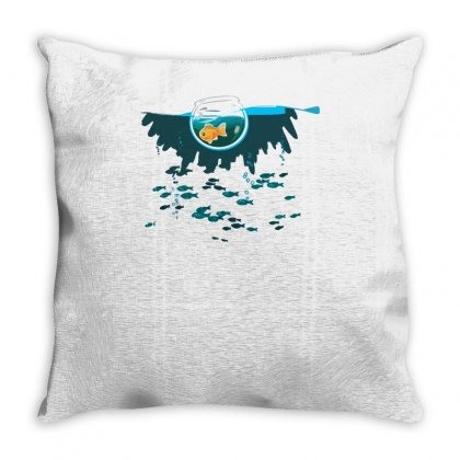 Almost Free Throw Pillow Designed By Achreart