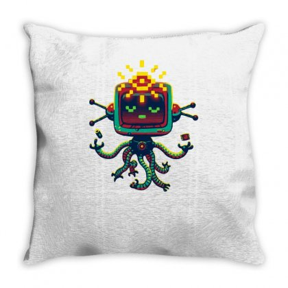 All Seeing Ai Throw Pillow Designed By Achreart