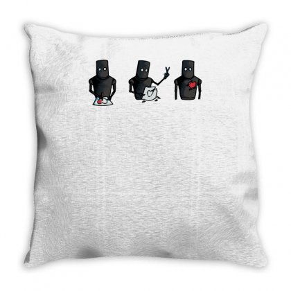 Almost Human Throw Pillow Designed By Achreart