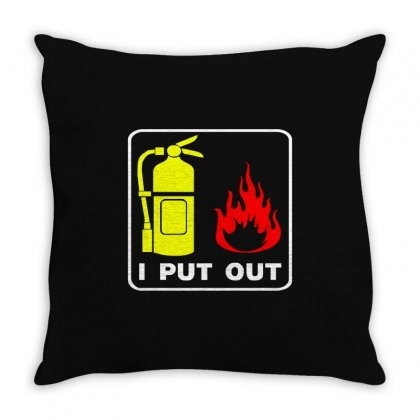 I Put Out Throw Pillow Designed By Ismi
