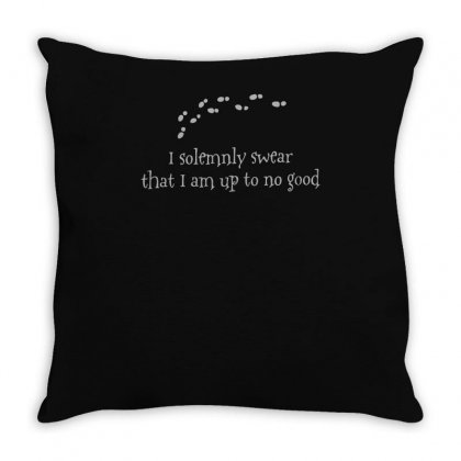 I Solemnly Swear That. Throw Pillow Designed By Ismi