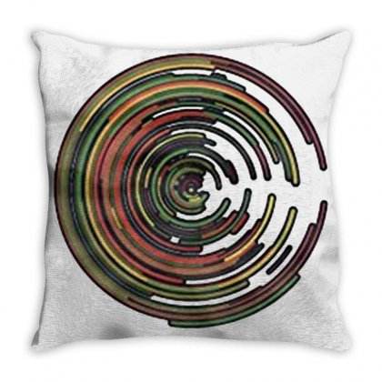 The Geometry Of Sunrise Throw Pillow Designed By Valen