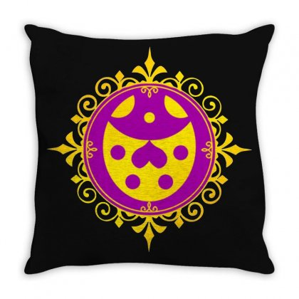 Golden Experience   Ladybug Throw Pillow Designed By Valen