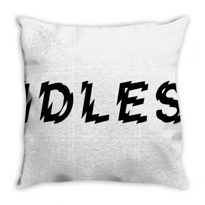 Idles Throw Pillow Designed By Valen
