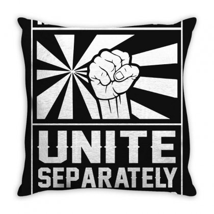 Introverts Unite Throw Pillow Designed By Valen