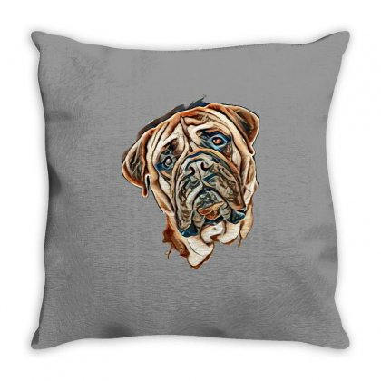 Love Puppies Throw Pillow Designed By Kemnabi