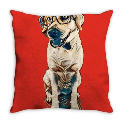 Best Dog Ever Throw Pillow Designed By Kemnabi