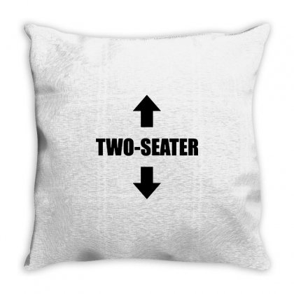 Two Seater Throw Pillow Designed By Valen
