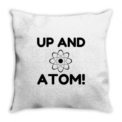 Up And Atom Throw Pillow Designed By Perfect Designers