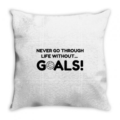 Volleyball Goals Throw Pillow Designed By Perfect Designers