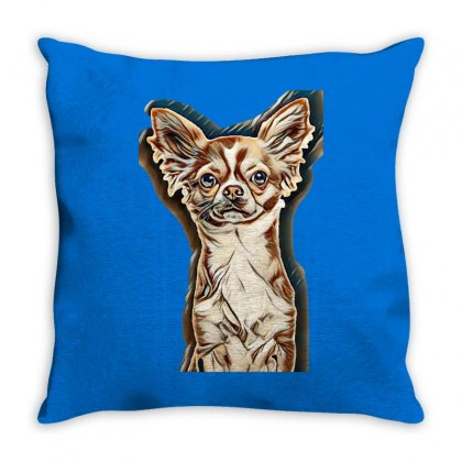 I Love Dogs Throw Pillow Designed By Kemnabi